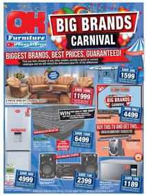 OK Furniture : Big Brands Carnival (23 May - 28 May 2017), page 1