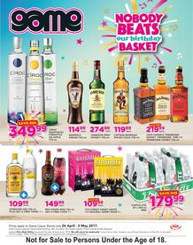 Game Liquor : Nobody Beats Our Birthday Basket (26 Apr - 2 May 2017), page 1