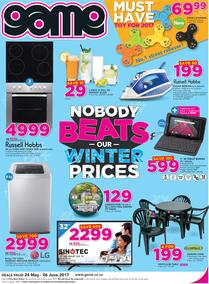 Game : Nobody Beats Our Winter Prices (24 May - 6 June 2017), page 1