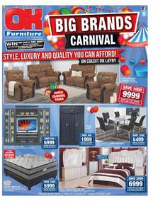 OK Furniture : Big Brands Carnival (30 May - 11 Jun 2017), page 1
