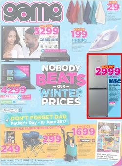 Game : Nobody Beats Our Winter Prices (7 June - 20 June 2017), page 1