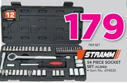 Stramm 54 Piece Socket Set XL2082