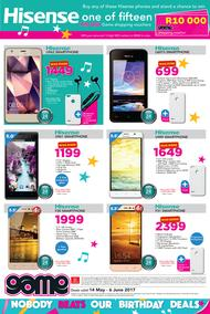 Game : Hisense Nobody Beats Our Birthday Deals (14 May - 6 June 2017), page 1