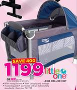 Little One Lexis Deluxe Cot