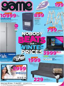 Game : Nobody Beats Our Winter Prices (28 June - 11 July 2017), page 1