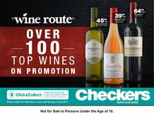 Checkers : Wine Route (05 Jun - 02 Jul 2017), page 1
