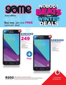 Game Vodacom : Nobody Beats Our Winter Deals (7 June - 7 July 2017), page 1