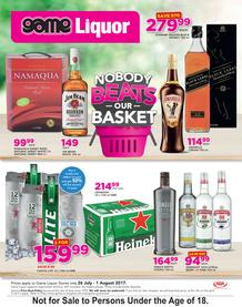 Game Liquor : Nobody Beats Our Basket (26 July - 1 August 2017), page 1