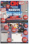 OK Furniture : Massive Birthday Savings (20 Jun - 28 Jun 2017), page 1