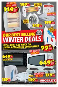 Shoprite : Winter Deals (22 Jun - 09 Jul 2017), page 1