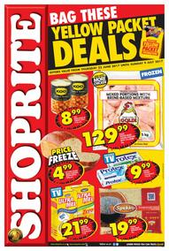 Shoprite : Yellow Packet Deals (22 Jun - 09 Jul 2017), page 1