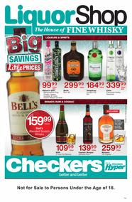 Checkers : Liquor Shop (26 Jun - 09 Jul 2017), page 1