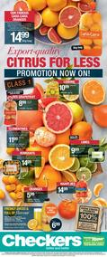 Checkers Eastern Cape : Citrus For Less (26 Jun - 02 Jul 2017), page 1