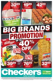 Checkers Eastern Cape : Big Brands Promotion (24 Jul - 06 Aug 2017), page 1
