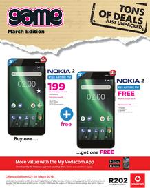 Game : Vodacom (7 March - 31 March 2017), page 1