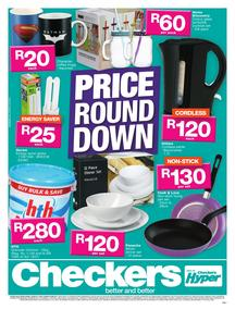 Checkers : Price Round Down (20 Aug - 03 Sep 2017), page 1