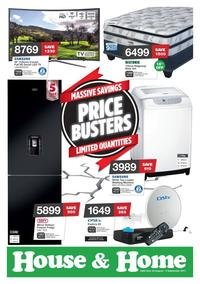 House & Home : Price Busters (22 Aug - 03 Sep 2017), page 1