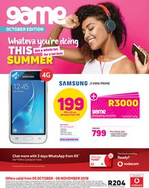 Game Vodacom : Whateva You're Doing This Summer (5 Oct - 6 Nov 2018), page 1