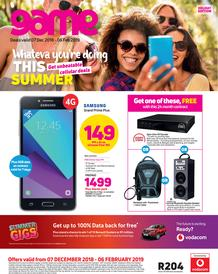 Game Vodacom : Whateva You're Doing This Summer (7 Dec 2018 - 6 Feb 2019), page 1