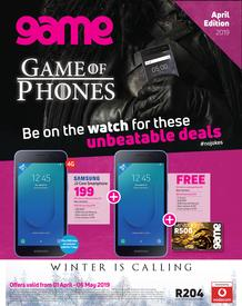 Game Vodacom : Game Of Phones (1 Apr - 6 May 2019), page 1