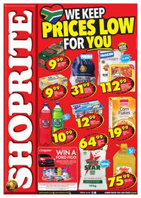 Shoprite KZN : Low Prices (11 Sep - 24 Sep 2017), page 1