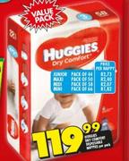 Huggies Dry Comfort Disposable Junior Nappy-Per Nappy