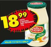 Crosse & Blackwell Tangy Mayonnaise-750g