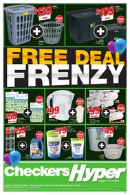 Checkers Hyper KZN : Free Deal Frenzy (10 Sep -24 Sep 2017), page 1