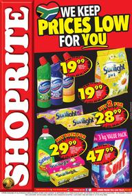 Shoprite KZN : Prices Low (18 Sep - 24 Sep 2017), page 1