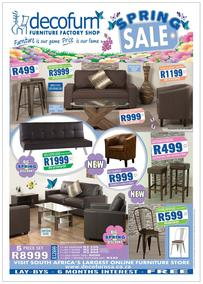 Decofurn : Spring Sale (20 Sep - 25 Sep 2017), page 1