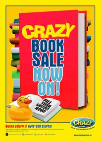 The Crazy Store : Book Sale (22 Sep - 15 Oct 2017), page 1