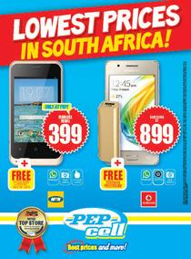 Pep : Lowest Prices Cell (29 Sep - While Stock Last), page 1