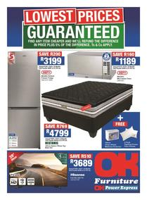 OK Furniture : Lowest Prices (10 Oct - 22 Oct 2017), page 1
