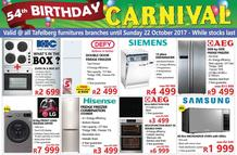 Tafelberg Furnishers : 54th Birthday (12 Oct - 22 Oct 2017), page 1
