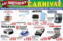 Tafelberg Furnishers Western Cape (12 Oct - 22 Oct 2017), page 1