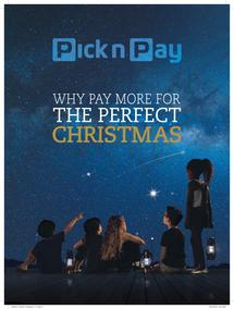 Pick n Pay : The Perfect Christmas (24 Nov - 24 Dec 2015), page 1