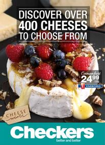 Checkers :  Over 400 Cheeses (23 Oct - 05 Nov 2017), page 1