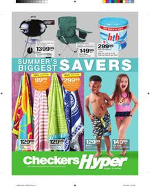 Checkers Hyper : Summer Biggest Savers (23 Oct - 05 Nov 2017), page 1