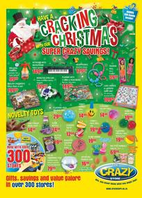 The Crazy Store : Cracking Christmas Super Crazy Savings (24 Nov - 24 Dec 2017), page 1