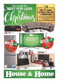 House & Home : Best For Less This Christmas (07 Nov - 19 Nov 2017), page 1