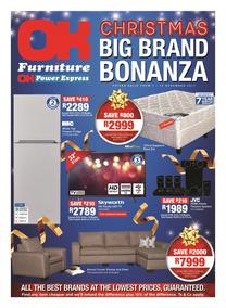 OK Furniture : Christmas Big Brand Bonanza (07 Nov - 19 Nov 2017), page 1