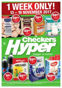 Checkers Hyper : 1 Week Only! (13 Nov - 19 Nov 2017), page 1