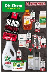 Dis-Chem : Black Friday One Day Only (24 Nov 2017 Only!), page 1