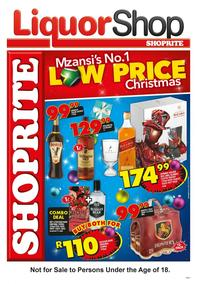 Shoprite : Liquor Shop (20 Nov - 03 Dec 2017), page 1
