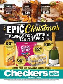 Checkers : Christmas Tasty Treats (03 Dec - 25 Dec 2017), page 1