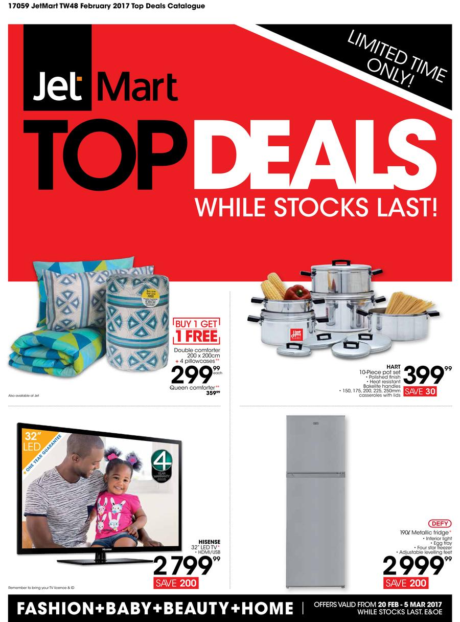 Jet Mart : Top Deals (20 Feb - 5 Mar 2017)