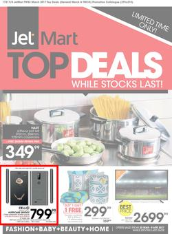Jet Mart : Top Deals (20 Mar - 9 Apr 2017), page 1