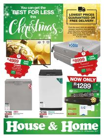 House & Home : Best For Less This Christmas (13 Dec - 24 Dec 2017), page 1