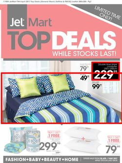 Jet Mart : Top Deals (20 Apr - 7 May 2017), page 1
