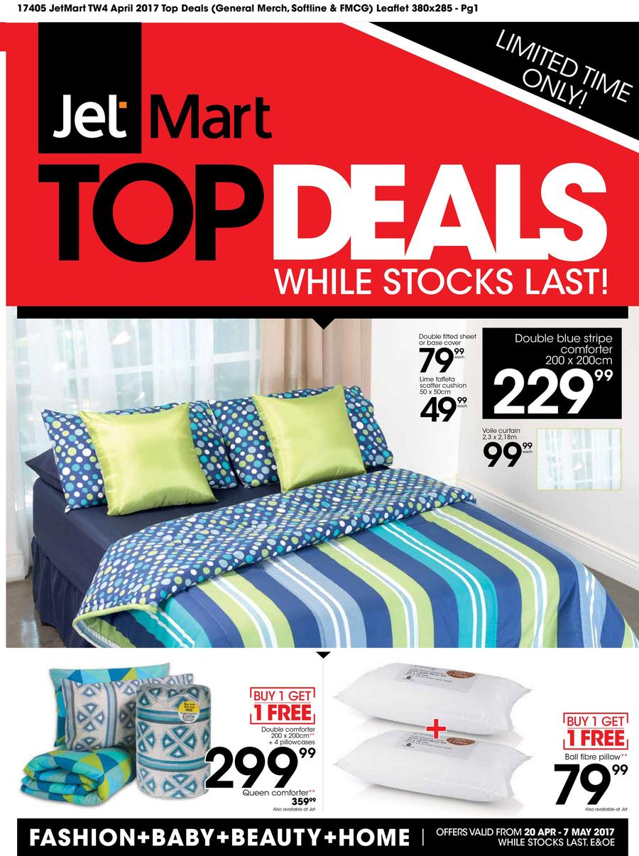 Jet Mart : Top Deals (20 Apr - 7 May 2017)
